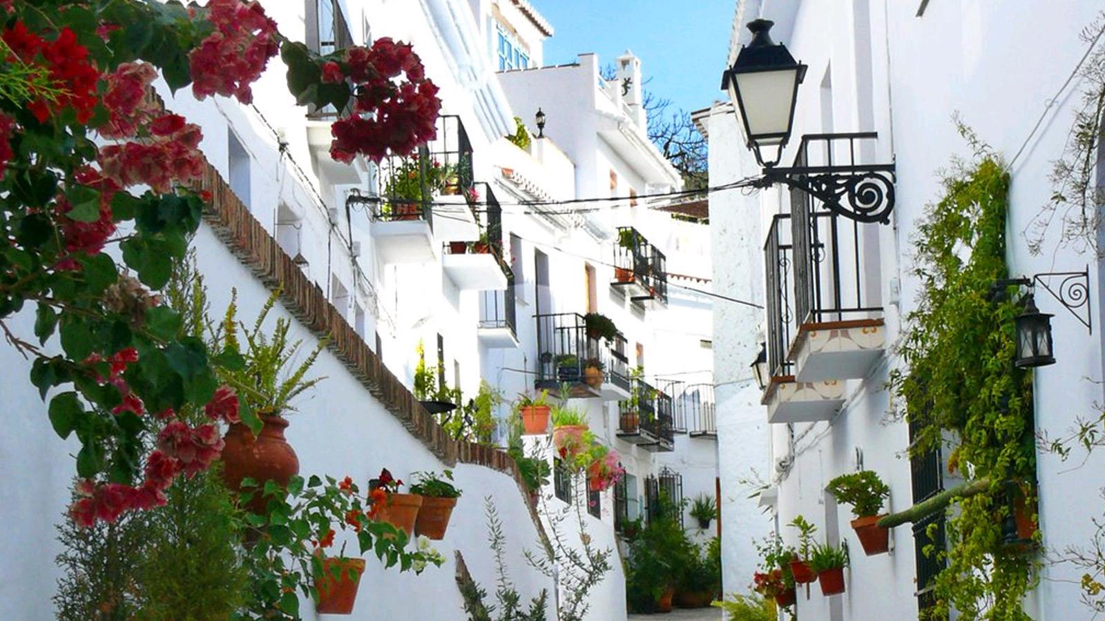 Excursión a Frigiliana. Alquiler de lofts en Málaga.