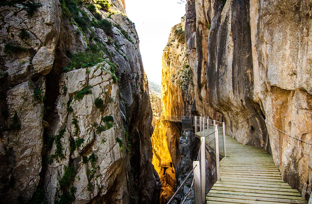 Excursion al caminito del rey