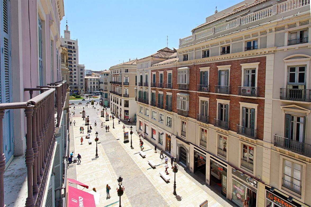 Alquiler lofts en Málaga. La calle larios.
