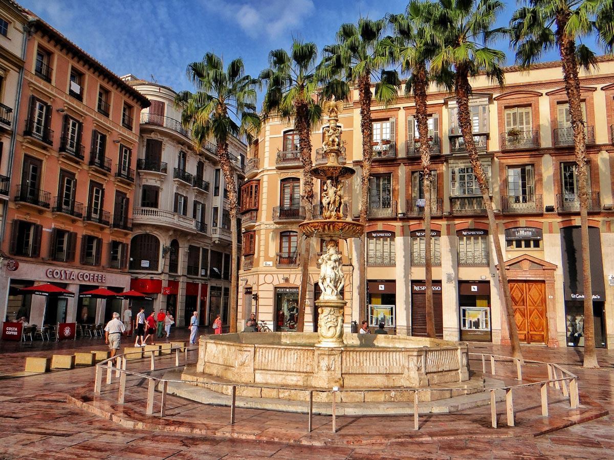 Alquiler apartamentos Málaga Plaza Constitución