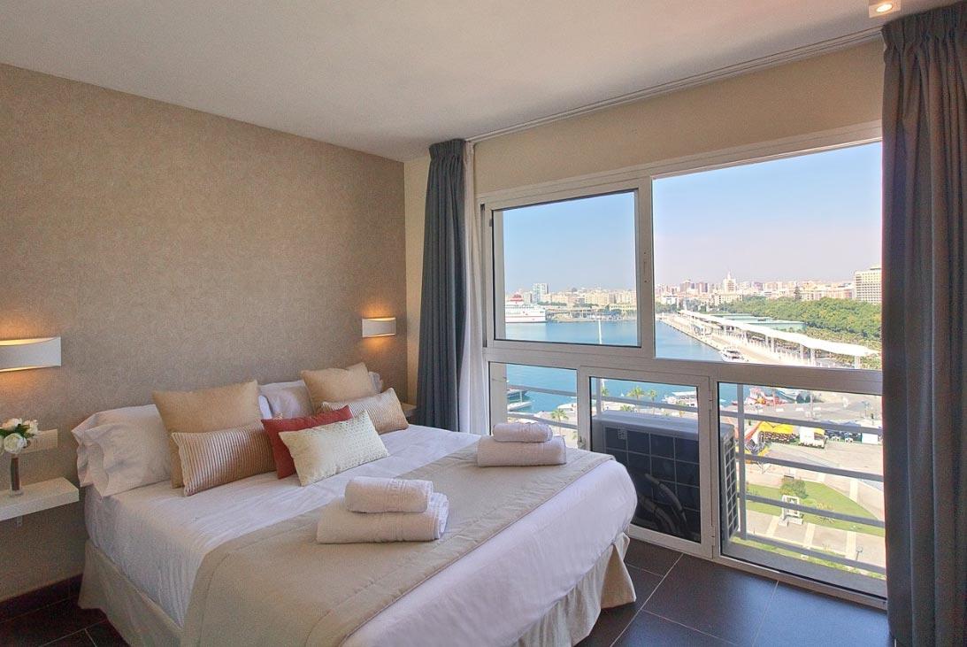 Apartamento con vistas al mar en Málaga