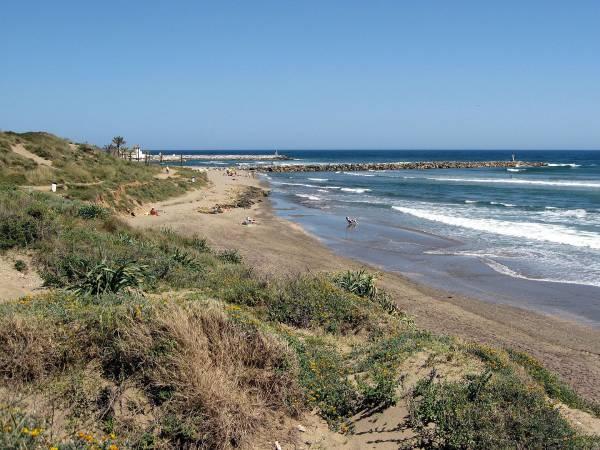 Playa Artola Malaga