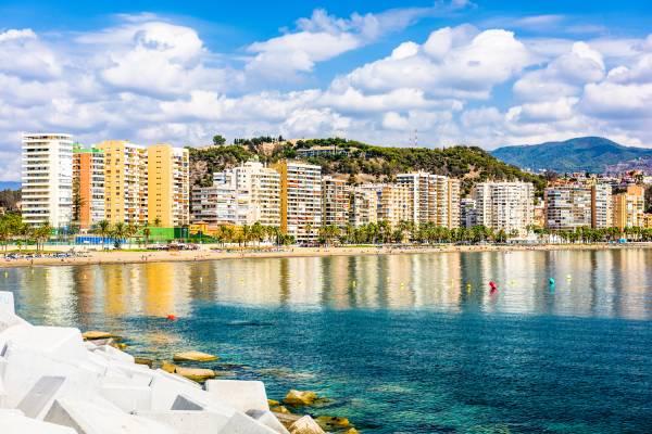 Playa de la Malagueta Málaga