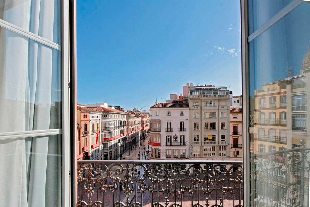 Balcones para la semana santa Málaga